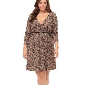 Torrid Animal Print Dress 1X